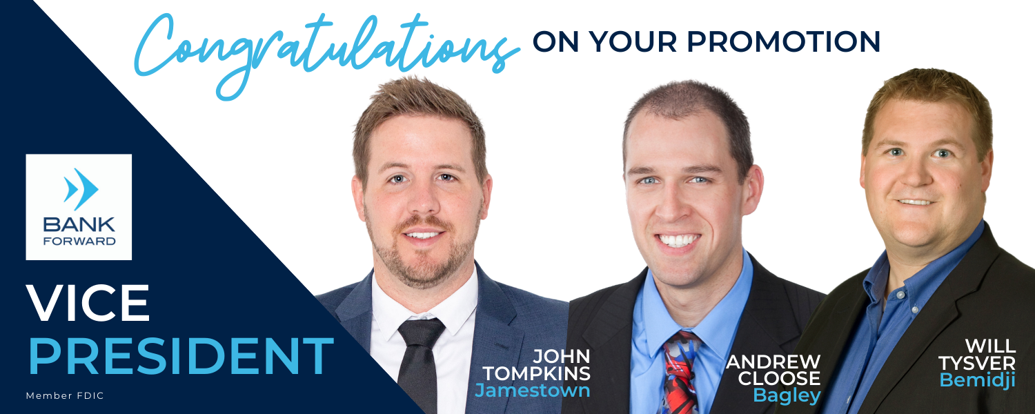 Three Promoted to VP