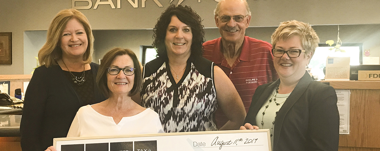 Bank Forward Donates $2,500 to Safe Shelter