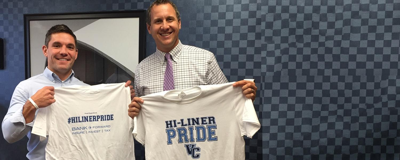 Bank Forward Supports Hi-Liner Pride T-Shirts