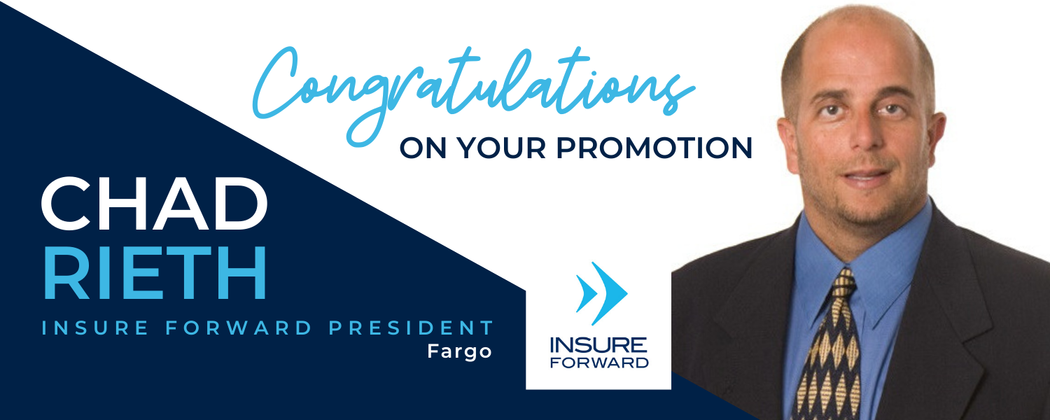 Rieth Promoted at Insure Forward