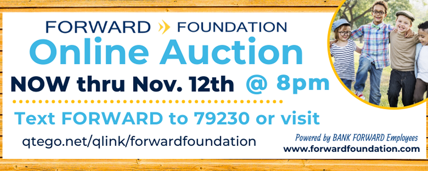 2019 Online Auction Fundraiser Happening November 1-12