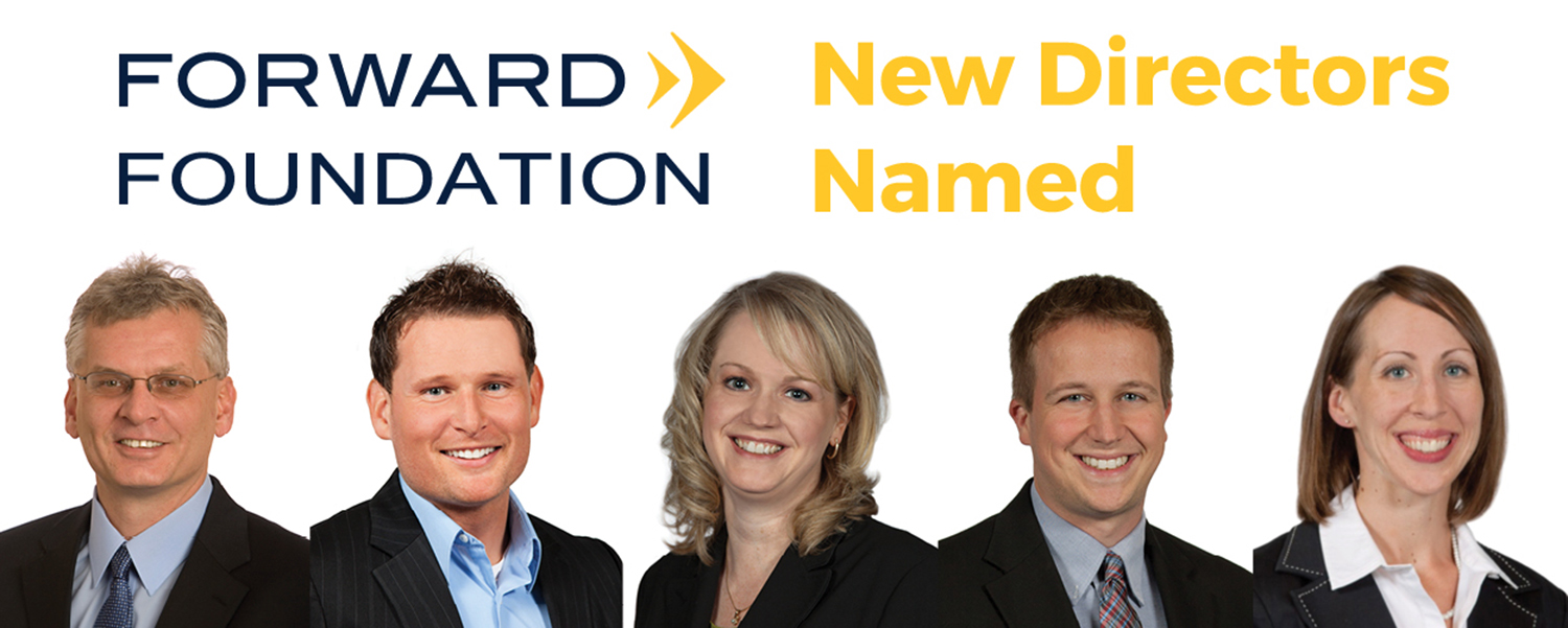 Forward Foundation Names New Board Members, Officers