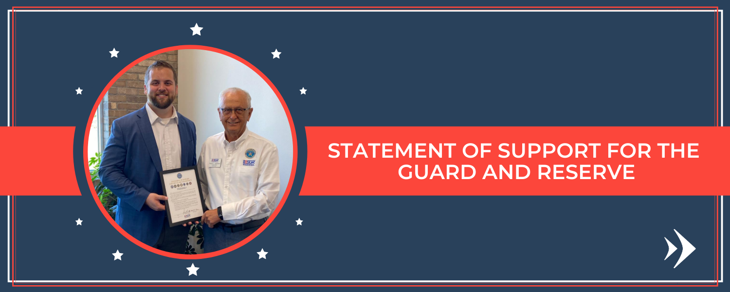 Bank Forward Signs Statement of Support for Guard and Reserve Members