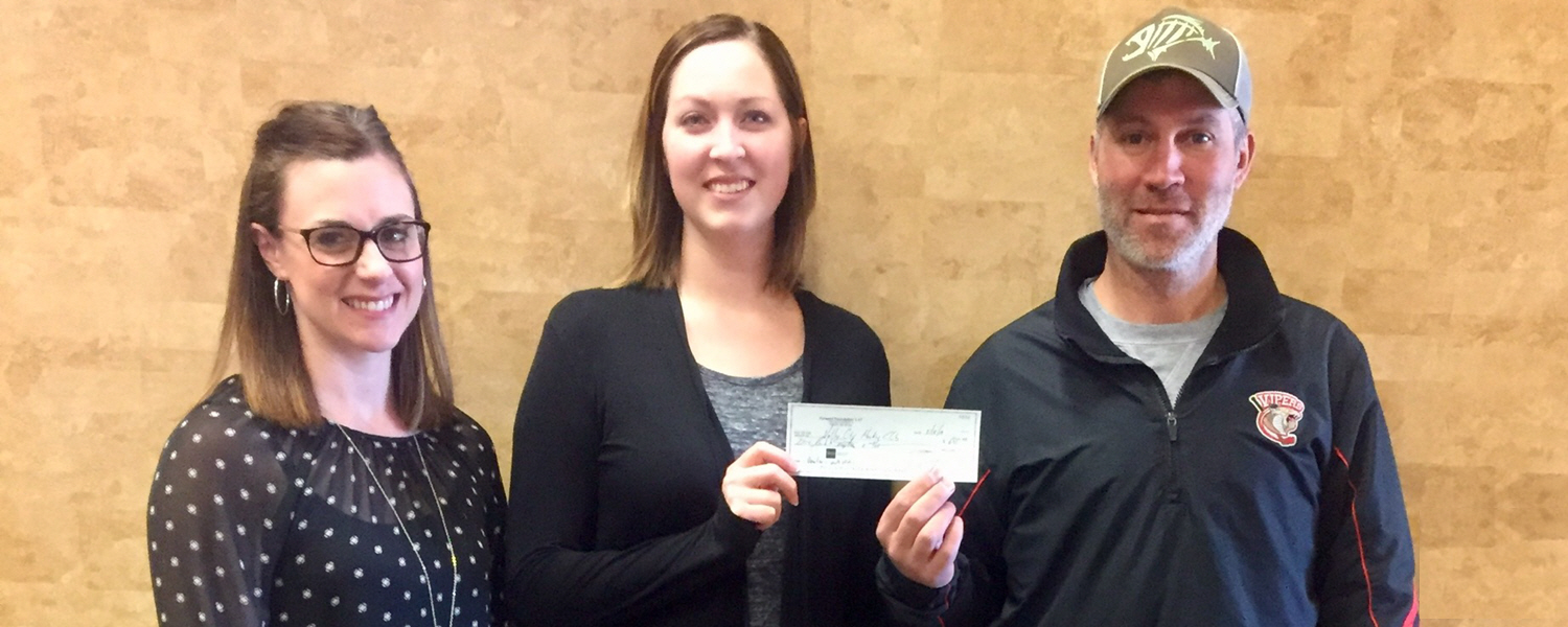 Forward Foundation Supports Valley City Hockey Club's Learn to Skate Program