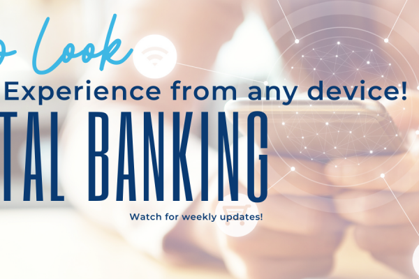 Digital Banking Upgrade Available October 6th!